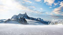 Στα πρόθυρα της κατάρρευσης παγετώνας στο Λευκό Όρος των