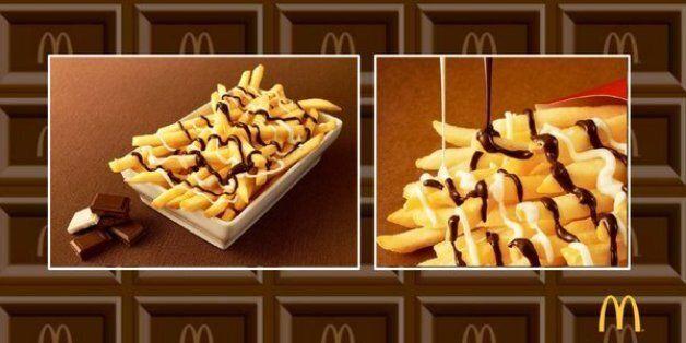Des frites au chocolat seront bientôt servies chez McDonald's au