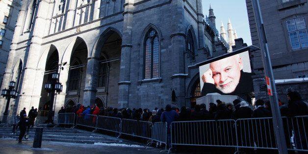 Funérailles nationales, foule... Montréal a vu les choses en grand pour René Angélil