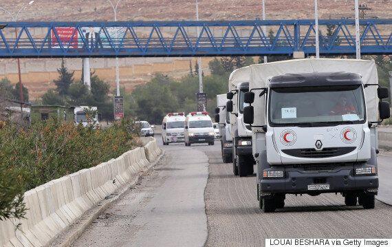 L'aide humanitaire arrive à Madaya, ville affamée en