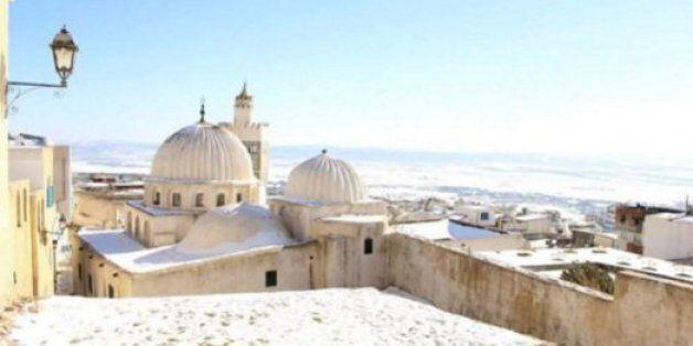Tunisie: Kef, Aïn Draham... les paysages enneigés ravissent les internautes