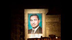 Un portrait géant de Hosni Mobarak à Casablanca suscite des