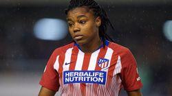 Una jugadora del Atlético de Madrid denuncia el incidente racista que sufrió en un