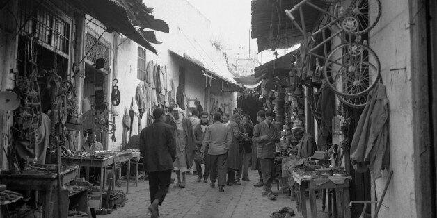 Image d'archive d'une rue à