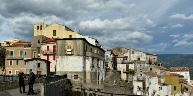 Le village de Sellia en Italie, le 11 janvier