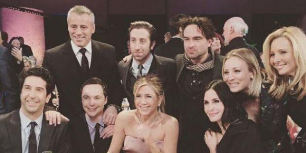 Lorsque Friends et The Big Bang Theory se
