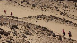Courir le désert marocain tout en récoltant des