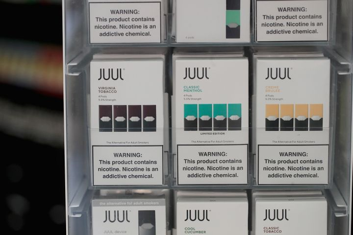 Juul Labs said Wednesday that it will not fight the Trump administration's proposal to ban flavored e-cigarettes.