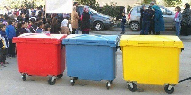 Les habitants de Beni Makada à Tanger s'essaient au tri sélectif des