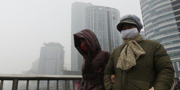 Pékin victime d'un air pollué un jour sur deux en