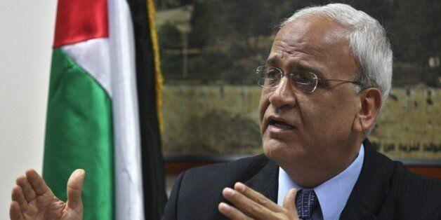 Saeb Erekat à Alger pour une visite de quatre