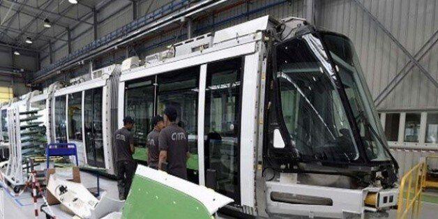 De nouvelles activités pour l'usine Cital d'assemblage des tramways à
