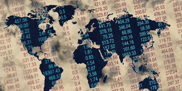 Map Projected on Stock Market