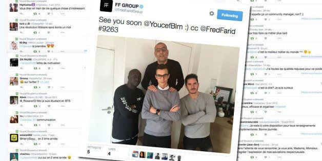 Grâce à sa lettre de motivation géniale sur Twitter, Youcef Boualem a décroché le stage qu'il