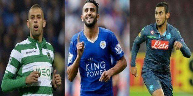 Equipe type-2015 des Africains d'Europe: Ghoulam, Mahrez et Slimani
