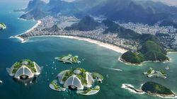 Une écocité futuriste imaginée dans la baie de
