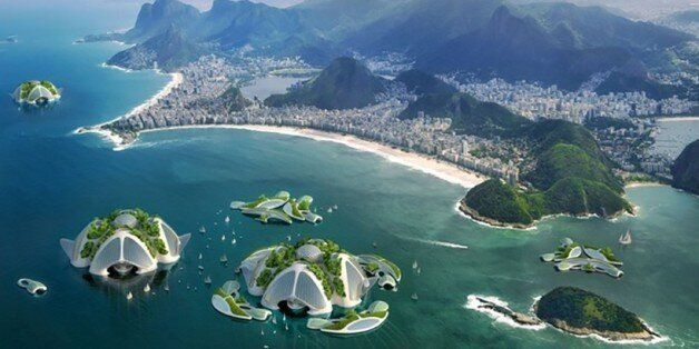 Une écocité futuriste imaginée dans la baie de Rio de Janeiro