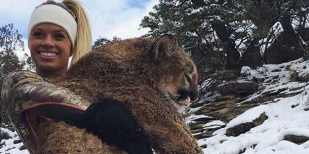 Kendall Jones, la pom-pom girl tueuse d'animaux, crée à nouveau la polémique en chassant un puma