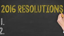 8 résolutions du Nouvel An faciles à