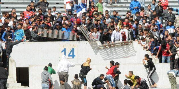 Violence dans les stades : 82 incidents enregistrés en 2015 contre 60 en