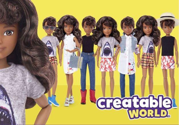 La nuova linea di bambole