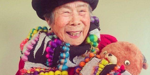 À 93 ans, cette grand-mère japonaise est une vedette sur Instagram