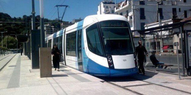 Tramway d'Alger: mise en service de la station Ben