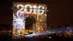 Revivez les festivités du passage en 2016 dans le