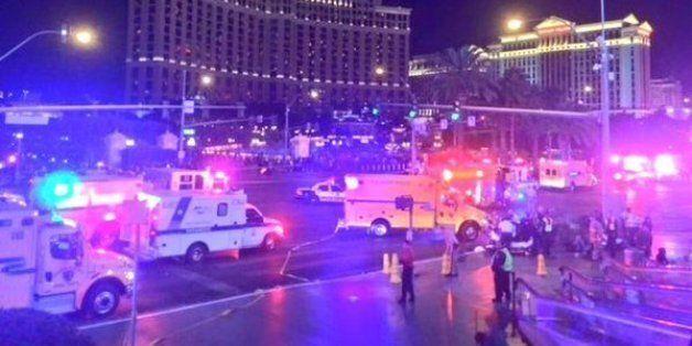Las Vegas: une voiture fonce dans la foule, un mort et 37 blessés