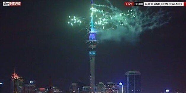 La Nouvelle-Zélande fête le Nouvel An 2016 avec 12 heures d'avance sur la