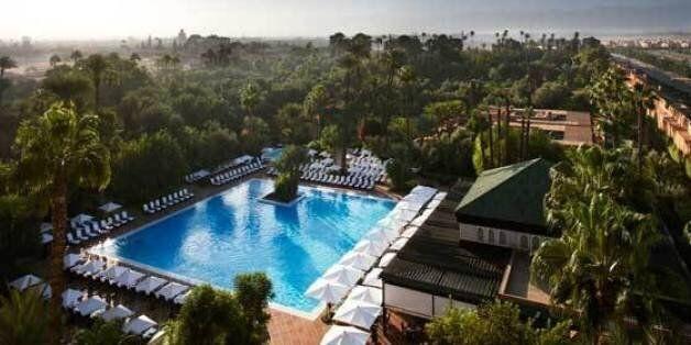La Mamounia de Marrakech a été élue en septembre 2015 meilleur hôtel du monde par un magazine