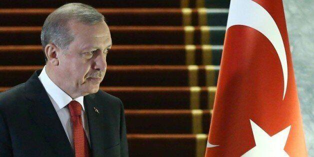 Le président turc Recep Tayyip Erdogan le 24 décembre 2015 à