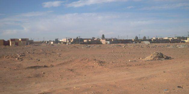 Une vue de Debdeb, ville frontalière avec la