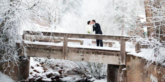 26 photos sublimes qui vous convaincront de vous marier en hiver
