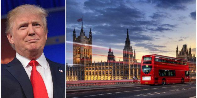 Une pétition appelant à interdire Donald Trump sur le sol britannique récolte plus de 64.000