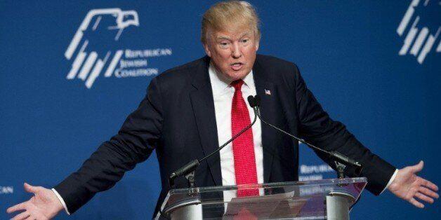 Le candidat républicain à la Maison Blanche Donald Trump, le 3 décembre 2015 à