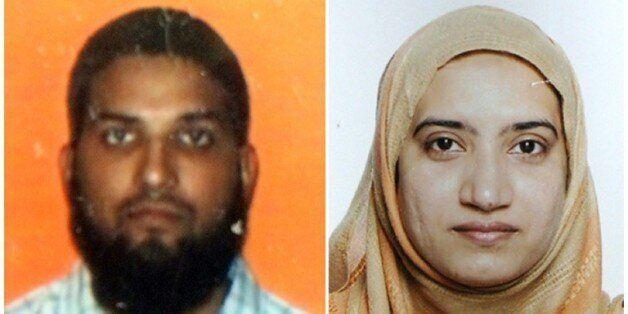 Les deux auteurs de la fusillade de San Bernardino, le 2 décembre