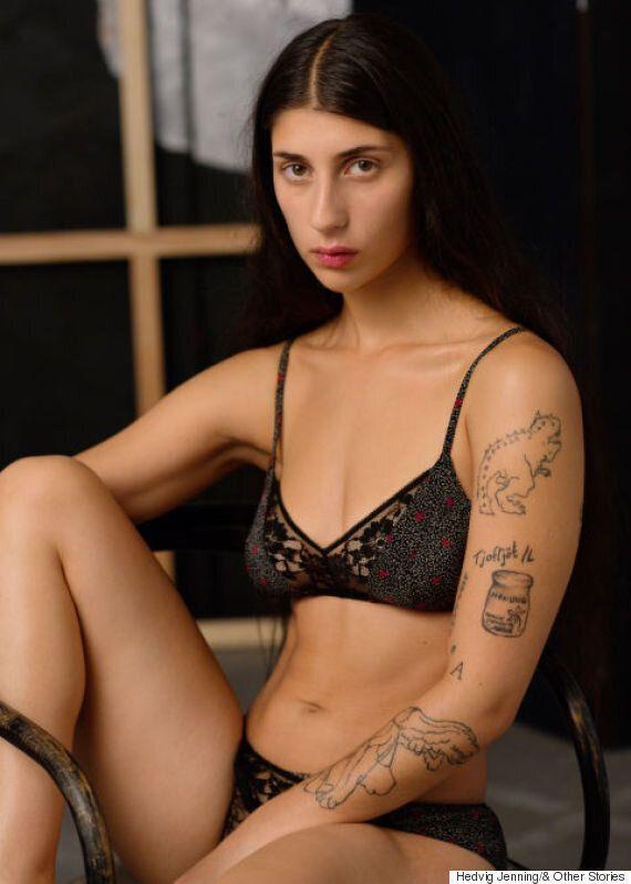 La marque de lingerie & Other Stories met de l'avant des femmes 100% naturelles