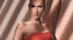 Céline Dion ose une robe en latex rouge,