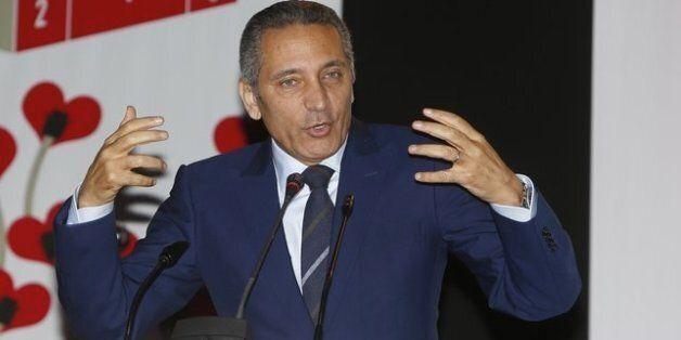 Moulay Hafid Elalamy, ministre de l'Industrie, du commerce, de l'investissement et de l'économie