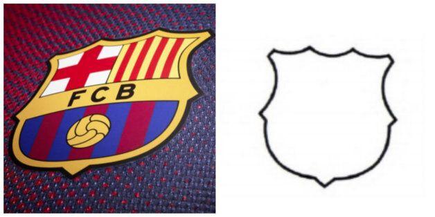 Les contours du logo du Barça ne deviendront pas une