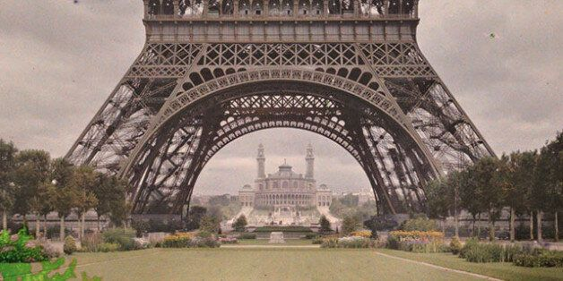 De rares photos en couleurs de Paris il y a 100