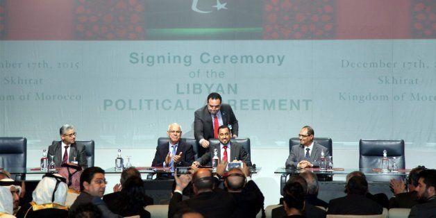 Skhirat: Signature sous l'égide de l'ONU d'un accord interlibyen