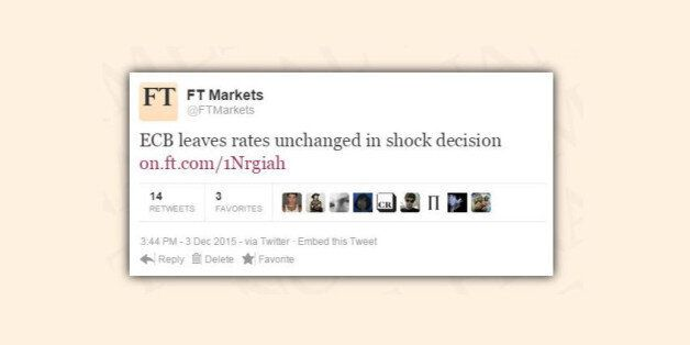 Ce tweet du Financial Times a affolé les marchés (mais Super Mario les a