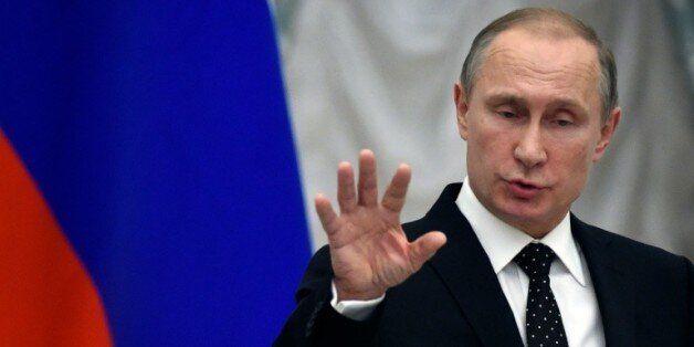 Le président russe Vladimir Poutine, le 26 novembre 2015 à