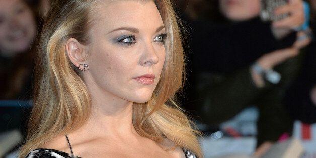 LONDON, ENGLAND - NOVEMBER 05: Natalie Dormer attends The Hunger Games: Mockingjay Part 2 - UK Premiere...