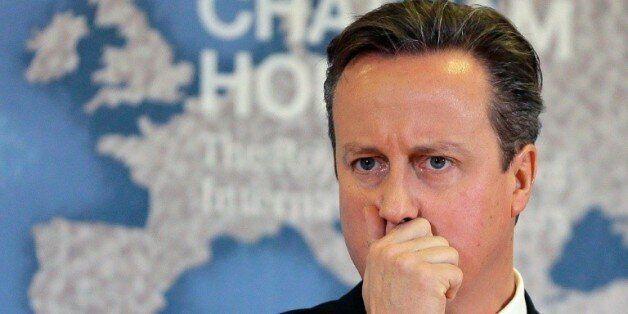 Le Premier ministre David Cameron le 10 novembre 2015 à