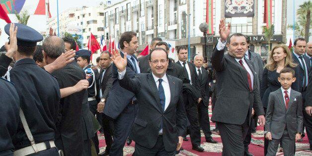 Hollande remercie Mohammed VI