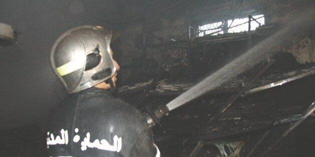 Grande mosquée d'Alger: Incendie à la base de vie des travailleurs chinois à
