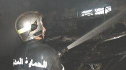 Grande mosquée d'Alger: Incendie à la base de vie des travailleurs